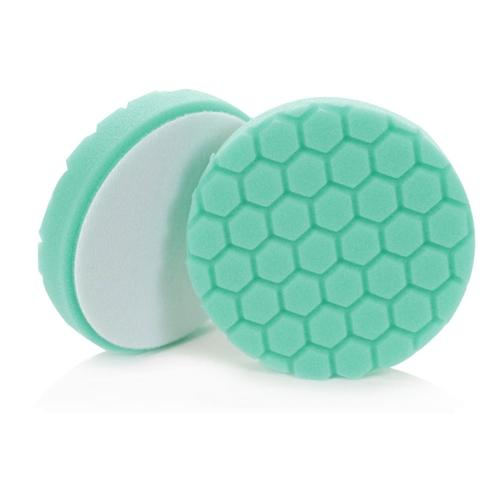 "Chemical Guys Hex-Logic 5"" Green Polishing Pad BUFX_103HEX5 - Auto Obsessed"