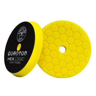 "Chemical Guys Hex Logic Quantum Heavy Cutting Pad Yellow 5.5"" BUFX111HEX5 - Auto Obsessed"