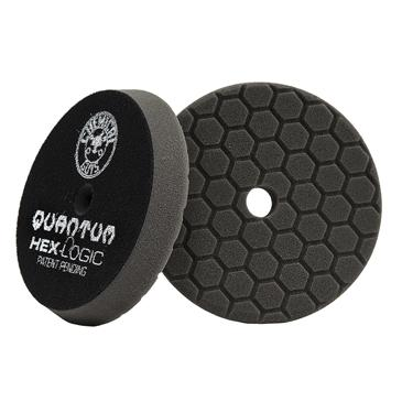 "Chemical Guys Hex Logic Quantum Finishing Pad Black 5.5"" BUFX116HEX5 - Auto Obsessed"
