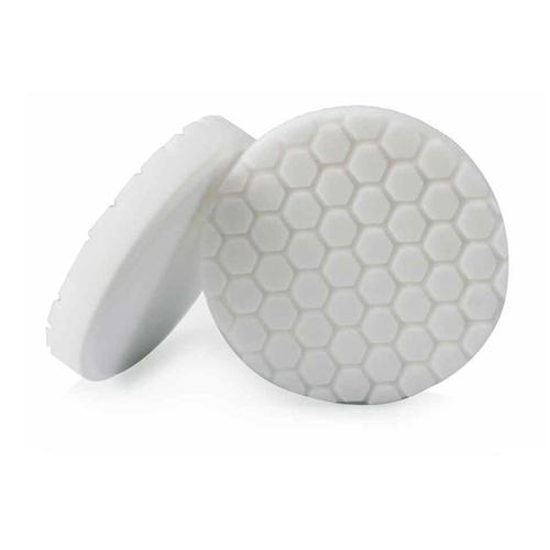 "Chemical Guys Hex-Logic 6.5"" White Medium Polishing Pad BUFX_104HEX6 - Auto Obsessed"