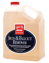Load image into Gallery viewer, Griots Garage Iron and Fallout Remover 1 Gallon 10948 - Auto Obsessed