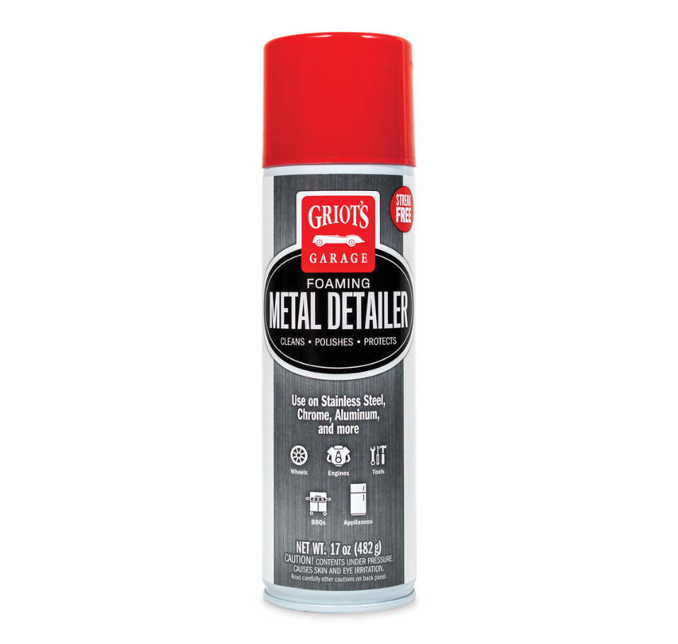 Griots Garage Foaming Metal Detailer, 17oz 10927 - Auto Obsessed