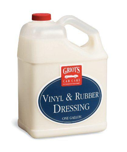 Griots Garage Vinyl and Rubber Dressing 1 gal 10981 - Auto Obsessed