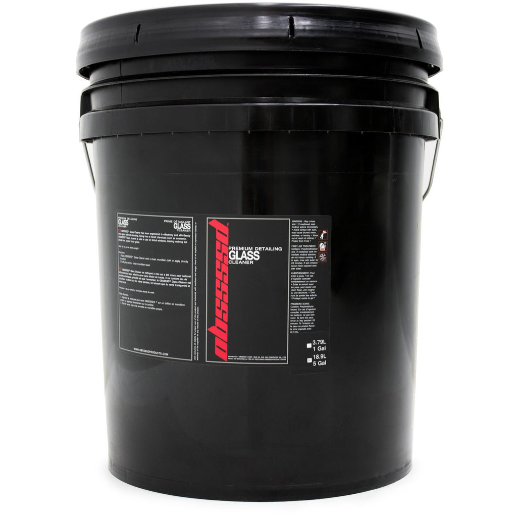 OBSSSSD Glass Cleaner 5 Gallon - Auto Obsessed