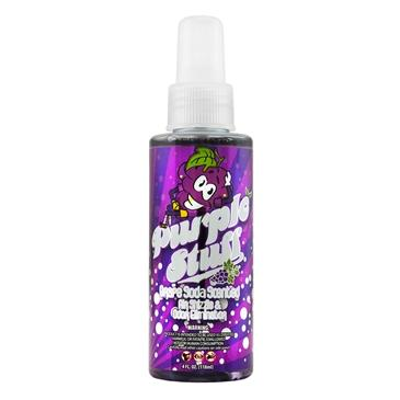 Chemical Guys Purple Stuff Grape Soda Scent Air Freshener & Odor Eliminator 4oz AIR_222_04 - Auto Obsessed
