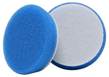 "Load image into Gallery viewer, Buff and Shine 3"" Uro-Tec Coarse Blue Heavy Cutting Foam Pads 2-Pack - Auto Obsessed"