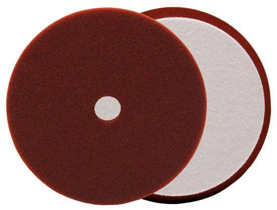 Buff and Shine 5 Uro-Tec Maroon Medium CutHeavy Polishing Foam Pad