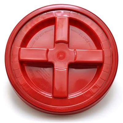 Bucket Lid with Gamma Seal, Red - Auto Obsessed