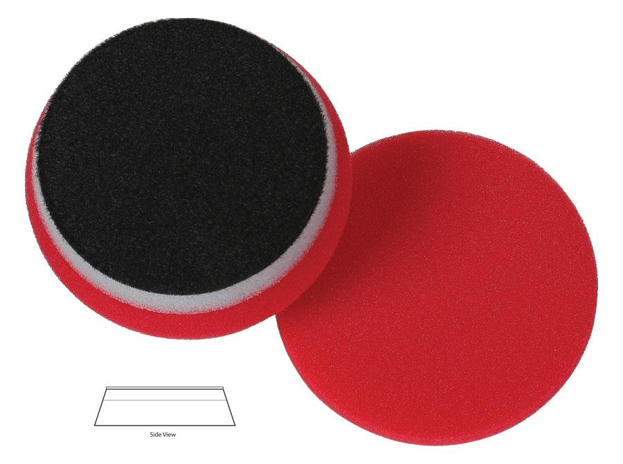"Lake Country 3.5"" HD Red Finishing Pad - Auto Obsessed"