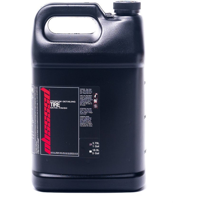 OBSSSSD Tire Satin Finish 1 Gallon - Auto Obsessed