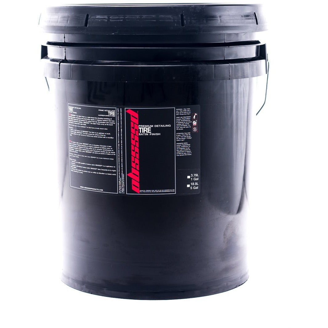 OBSSSSD Tire Satin Finish 5gal. - Auto Obsessed