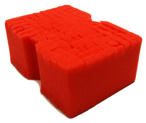 Optimum Big Red Wash Sponge - Auto Obsessed