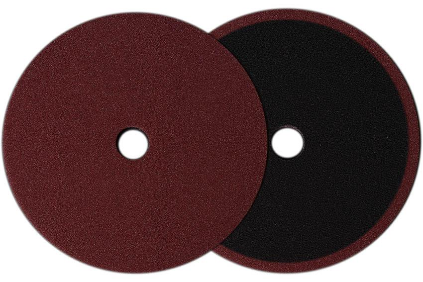 Buff and Shine Low-Pro Maroon Polishing Pad 6in - Auto Obsessed