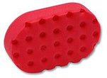 CCS Euro Foam Hand Applicator Pad Red