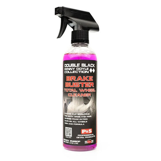 P&S Double Black Brake Buster Total Wheel Cleaner 16oz - Auto Obsessed