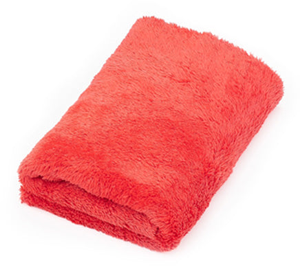"The Rag Company Eagle Edgeless Red 500 GSM Microfiber Towel 16"" x 16"" - Auto Obsessed"