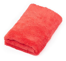 "Load image into Gallery viewer, The Rag Company Eagle Edgeless Red 500 GSM Microfiber Towel 16"" x 16"" - Auto Obsessed"