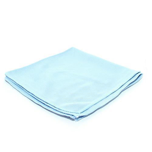 The Rag Company Premium Korean Glass and Window Microfiber Towel Blue - Auto Obsessed