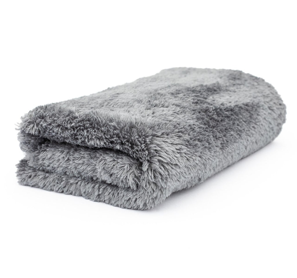 "The Rag Company Eagle Edgeless Grey Microfiber Towel 16"" x 16"" - Auto Obsessed"