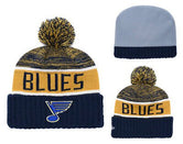 Ice Hockey Team Knitted Hat Men and Women Warm Sports Hat Winter Knitted Hat National Roller Hockey Fan Hats