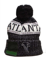 ATLANTA Beanie Embroidery Skiing Knitted Hats Women Men Winter Cap Warm Baggy Beanies Knit Bonnet Caps