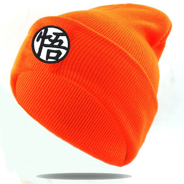 Dragon ball Goku knitted hat fashion bone skull Beanies Autumn warm hat Casual Men women Hip hop Winter cap hats high quality