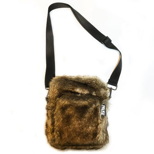 PAUSE x The New County Faux Fur Bag