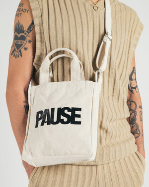PAUSE 'Sand' Mini Tote Bag