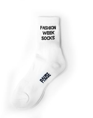 PAUSE 'Fashion Week' Socks