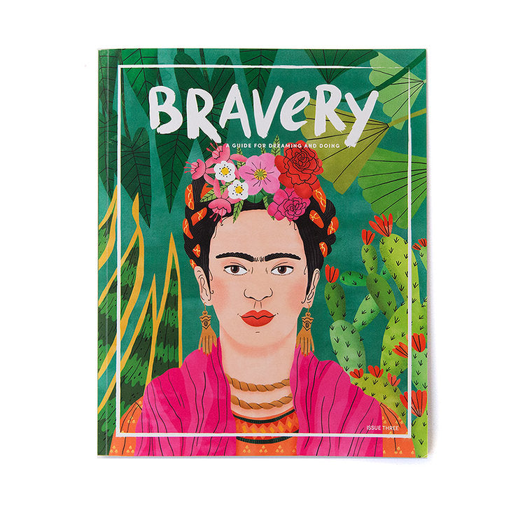 Bravery Magazine issue 3 / Frida Kahlo