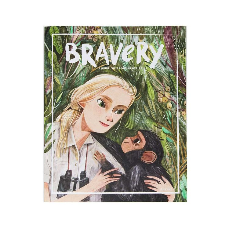 Bravery Magazine issue 1 / Jane Goodall