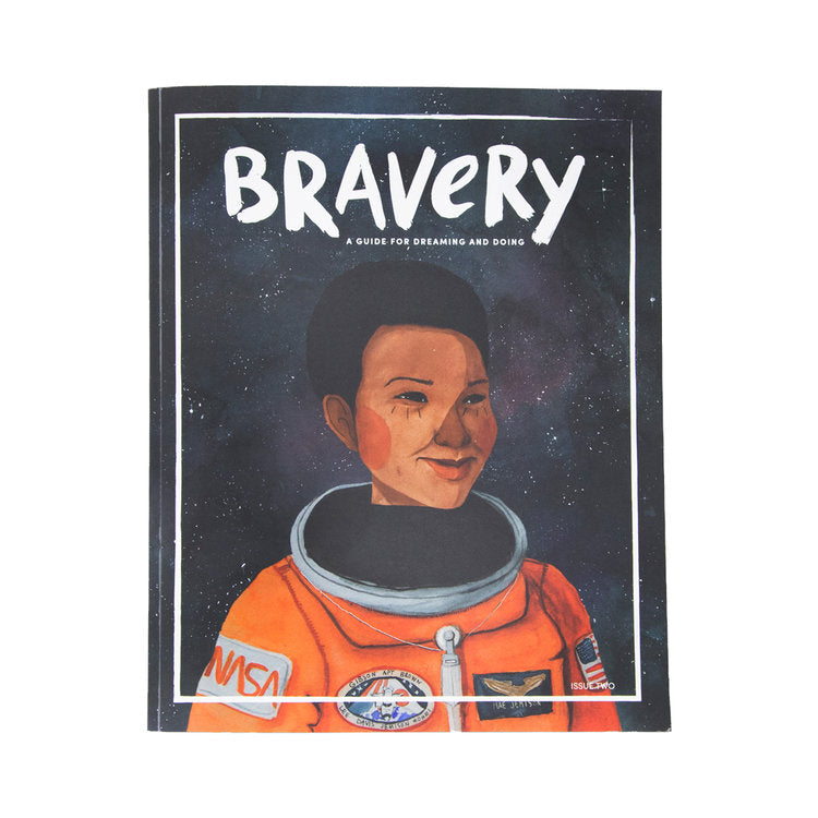 Bravery Magazine issue 2 / Mae Jemison