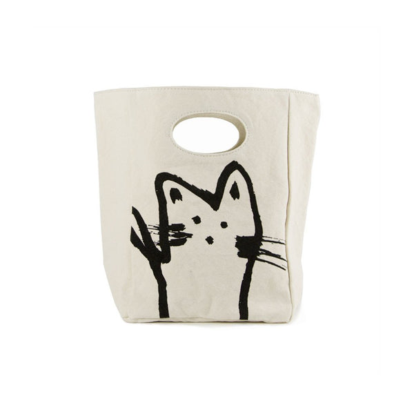 classic lunch bag (cat)