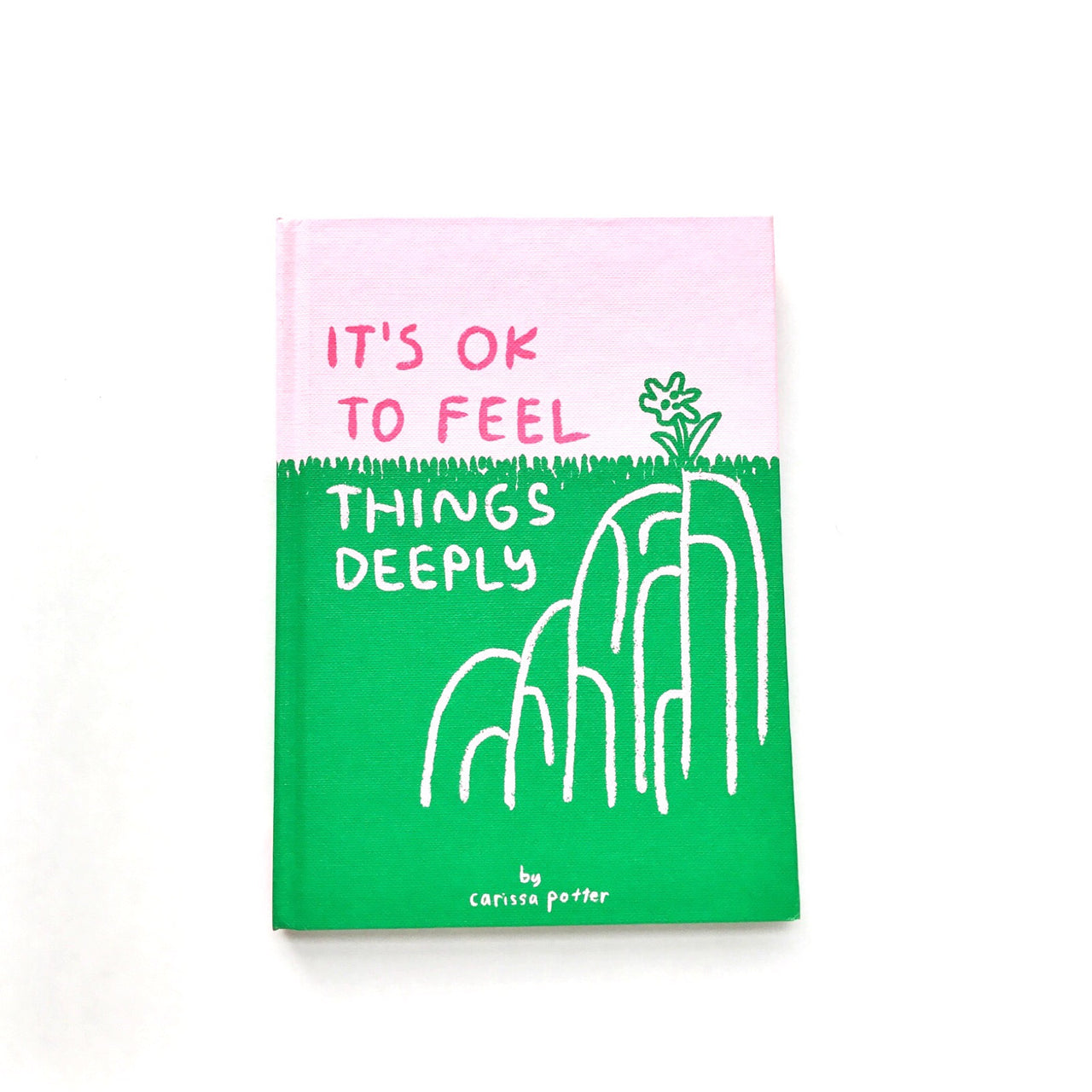 it's ok to feel things deeply