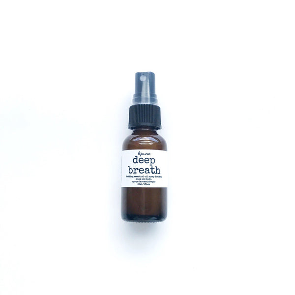 deep breath essential oil spray
