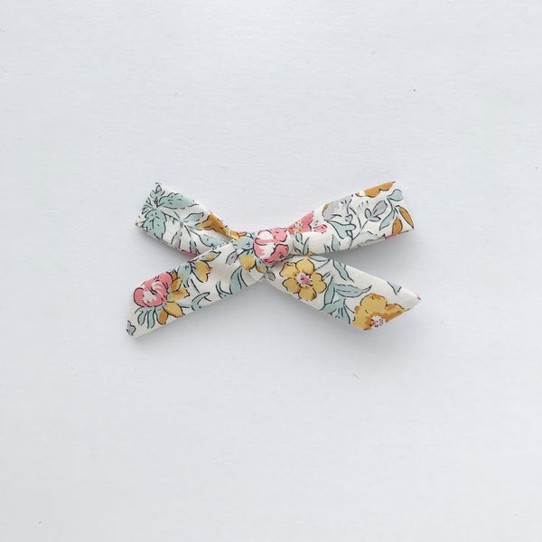schoolgirl bow - liberty fall floral