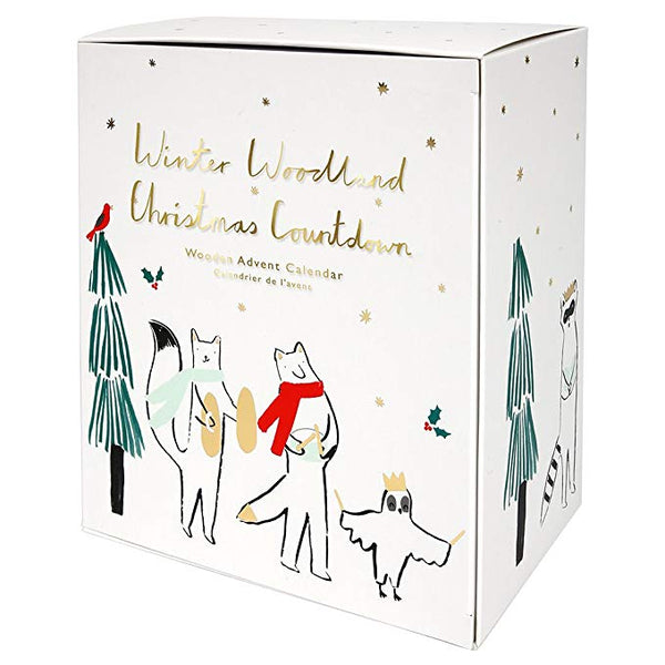 woodland advent calender