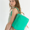 kodomo mini backpack emerald green