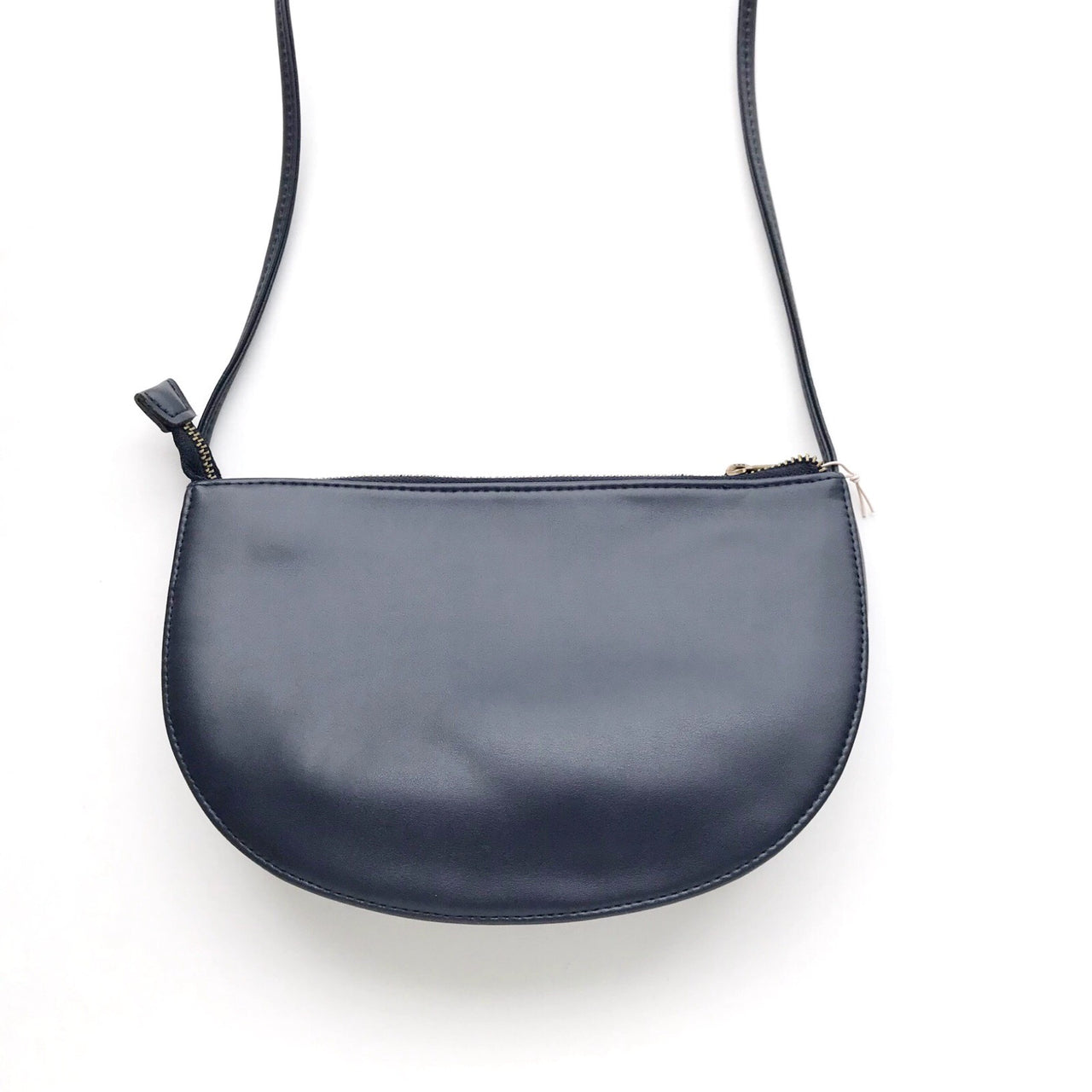 half moon bag - midnight blue