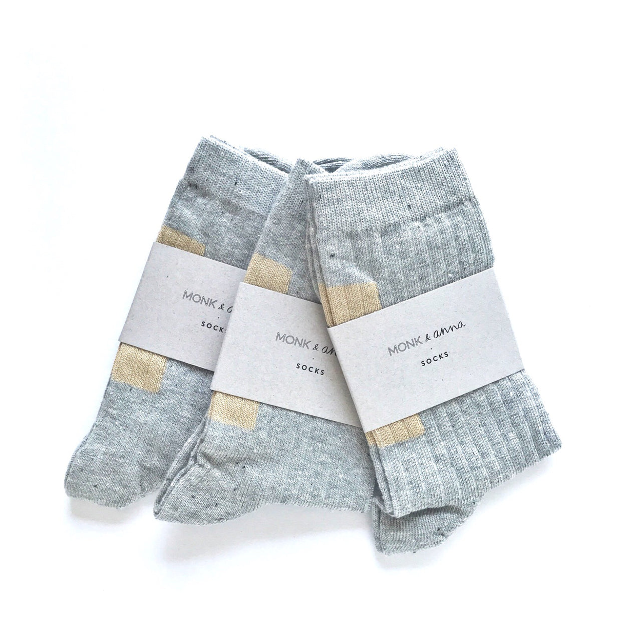 socks light grey / gold glitter