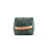 toiletry bag - forest green