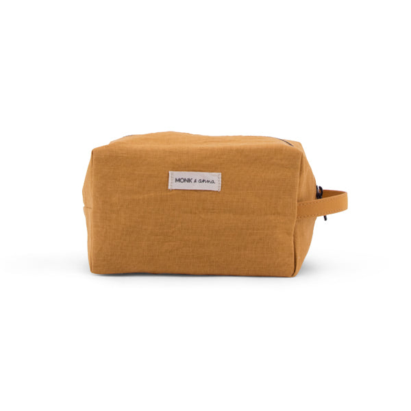 toiletry bag - honey