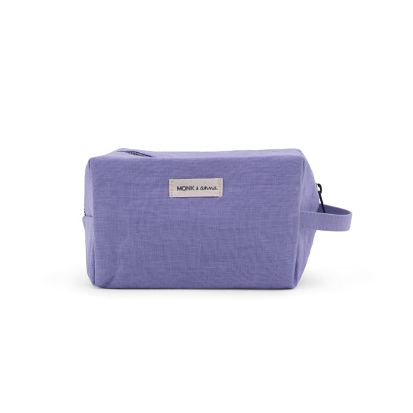 toiletry bag - lilac