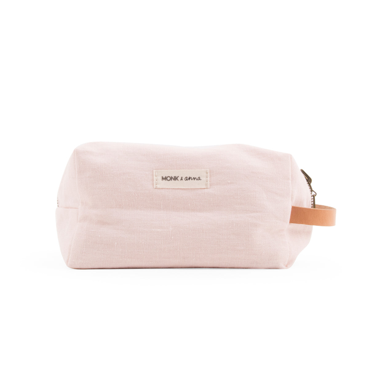 toiletry bag - nude pink