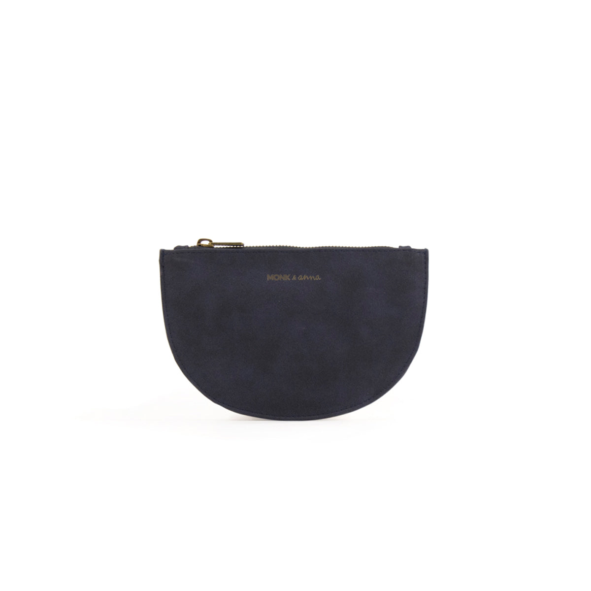 half moon wallet - midnight blue