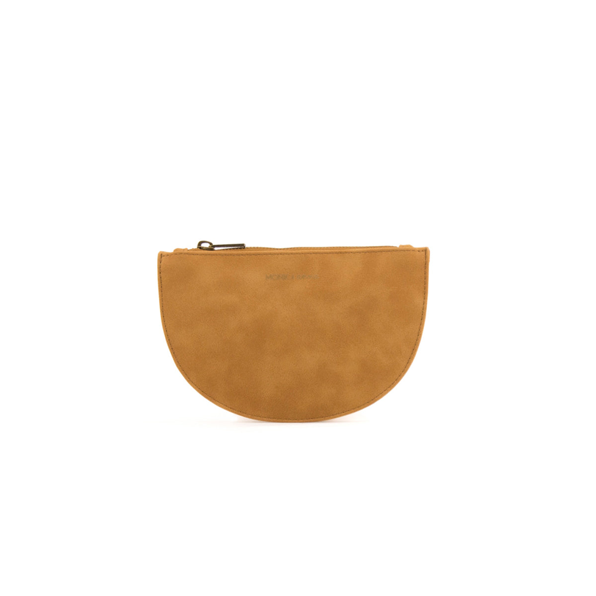 half moon wallet - fudge