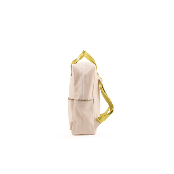 large backpack soft pink - gold glitter – Aster + Clove 8aa1933a211f0