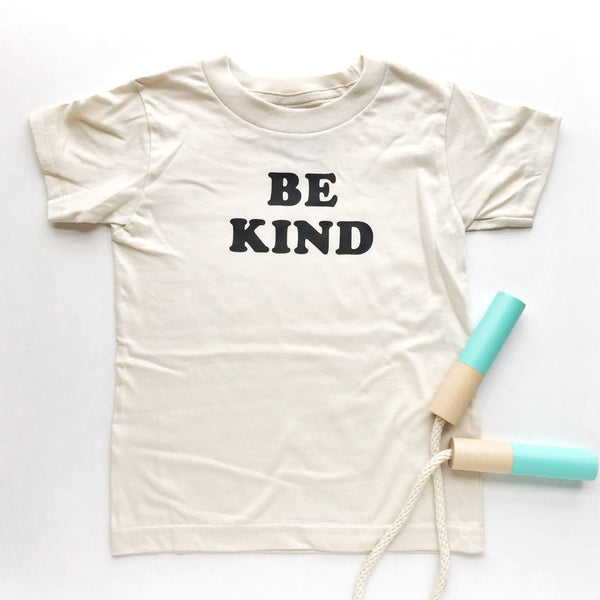 t-shirt be kind (natural, kids)