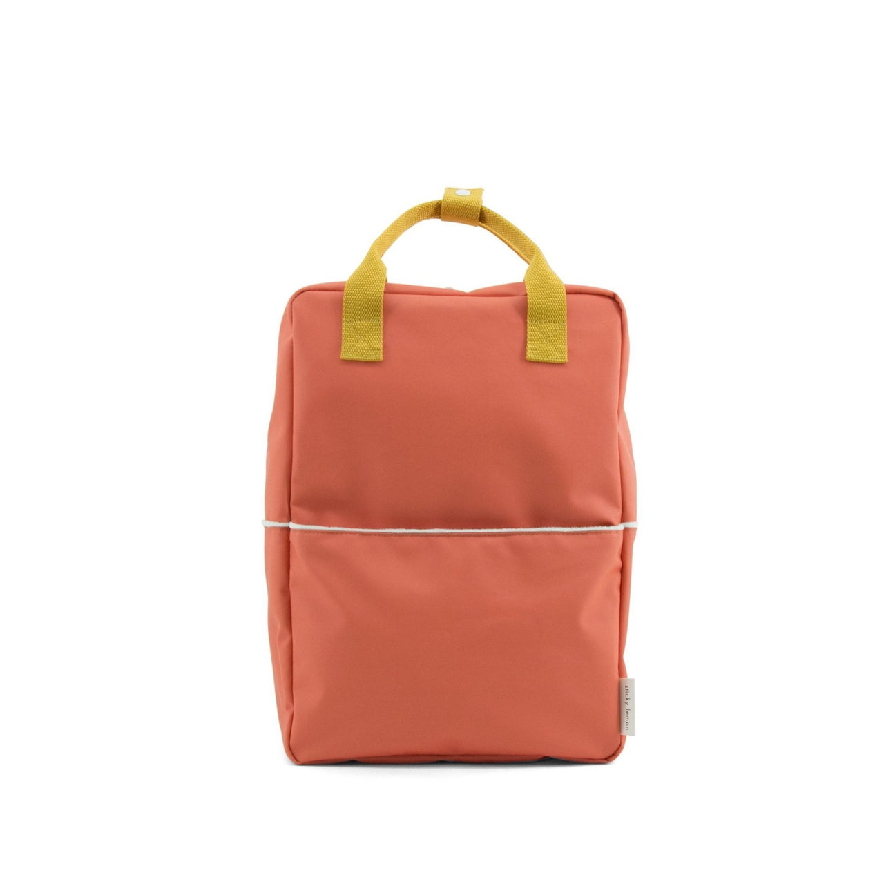 large backpack sporty red