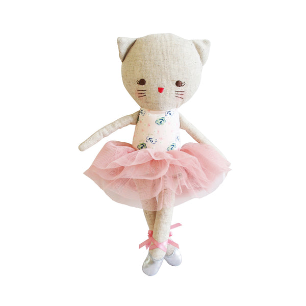 linen kitty ballerina